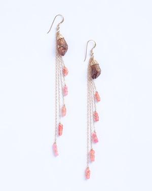Albarracin / Citrine-Pink coral
