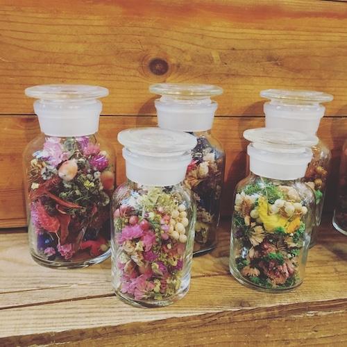 Dry flower bottle M