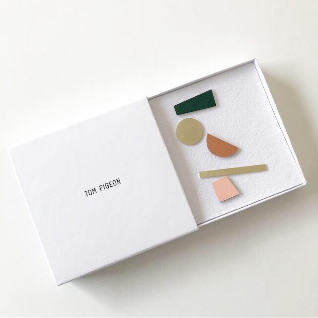 展示品 Tom Pigeon -Balance Mix Match Earring Set(ピアス)-
