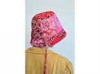 【RehersalL】bandanna basket hat(red A) /【リハーズオール】バンダナバスケットハット(レッドA)