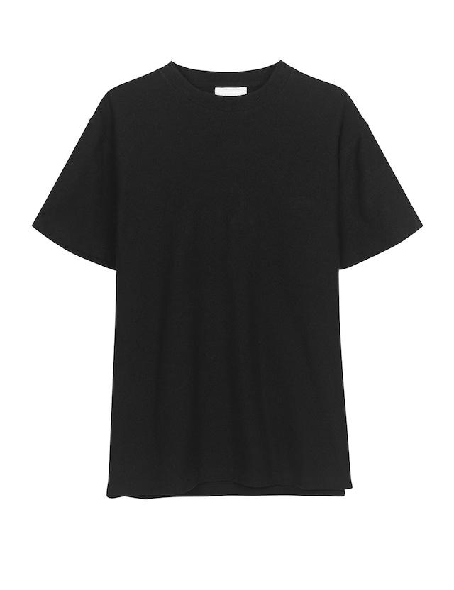SOULLAND COLIN T-SHIRT  BLACK