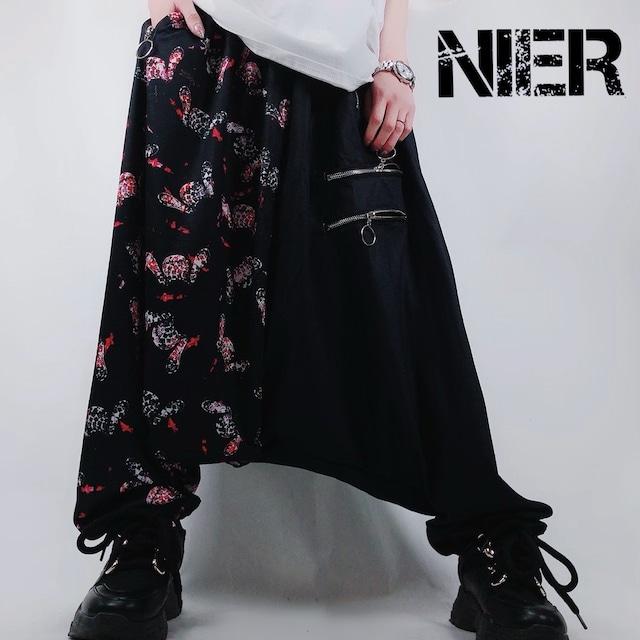 TWO-TONE Sarrouel pants【Sickness】