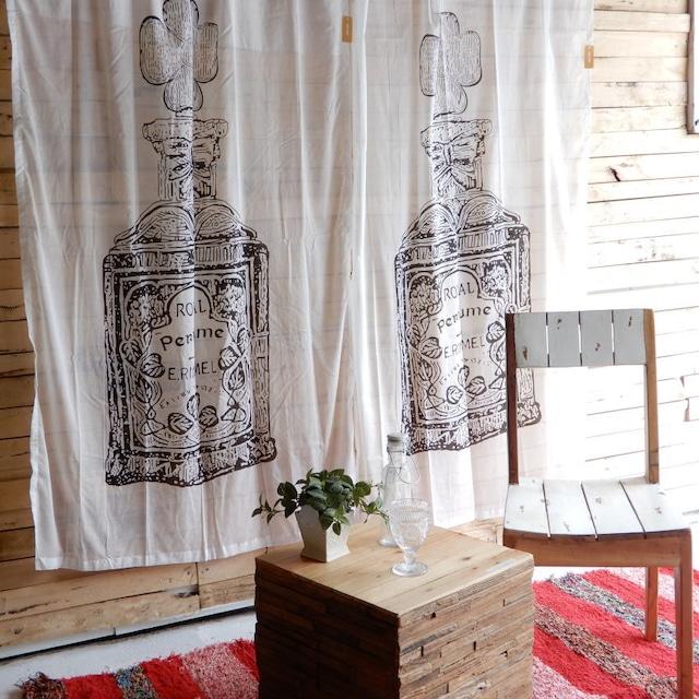 ヴィンテージスタイルカーテン 110x180cm パフューム