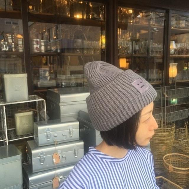 TOPANGA Accessory ソリッドニット帽 グレー