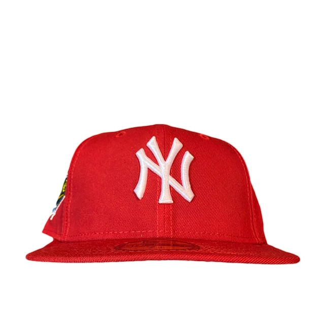NEW ERA New York Yankees 1996 World Series 59Fifty Fitted / Red×White (Ice Blue Brim)