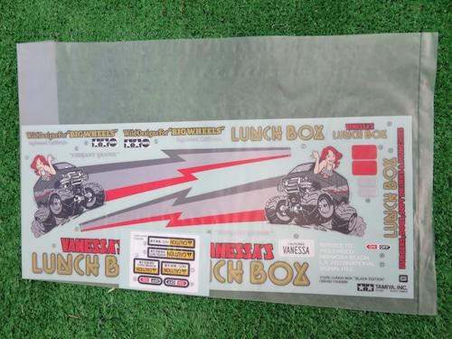 ランチボックス ブラックエディション専用ステッカー 限定品