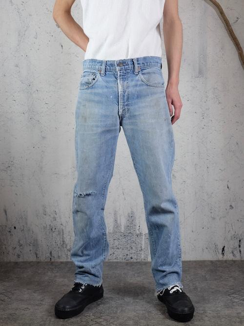 Levi's505 damage pants