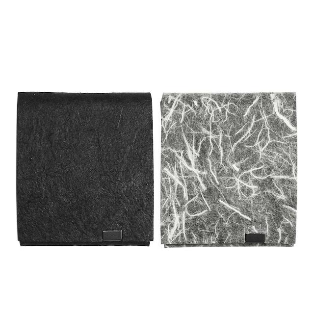 黒和紙/白和紙 ショートウォレット2.0