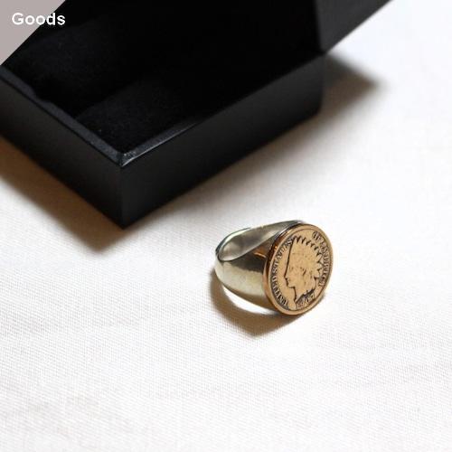 【再入荷】Orgueil コインリング Coin Ring OR-7157A