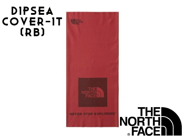 【TNF】 DIPSEA COVER-IT RB(Red Square Logo Basic)