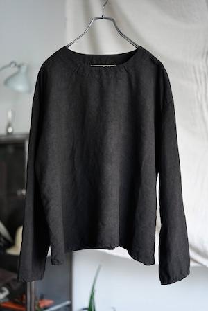 <SOLD OUT>Vincent Jalbert - Full Vintage Linen T Shirt (black)
