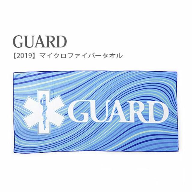 GUARD (ガード) 2019 マイクロファイバー タオル [2019MFTWL] アウトドア サバイバル キャンプ スイム 水泳 ブランケット