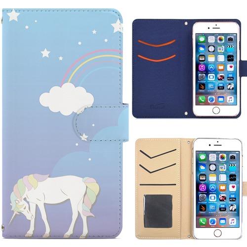 Jenny Desse iphone XR ケース 手帳型 カバー スタンド機能 カードホルダー パープル(ホワイトバック)