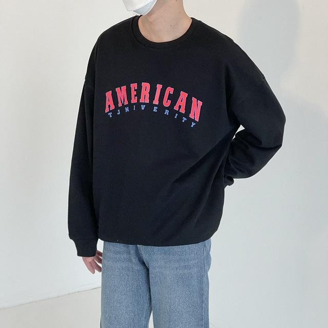 AMERICAN ロゴスウェット YH0721