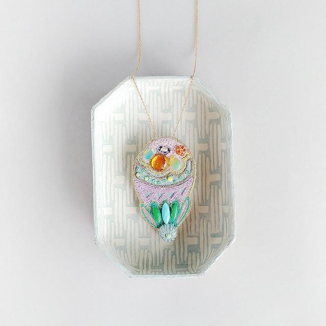 アントワネットポワソン(Antoinette Poisson)コラボブローチ&ネックレス<気球>