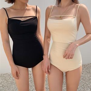 simple onepiece swimwear