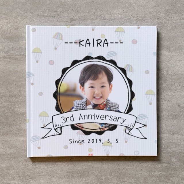Handwriting-Hairf age anniversary_B5スクエア_10ページ/10カット_フォトブック