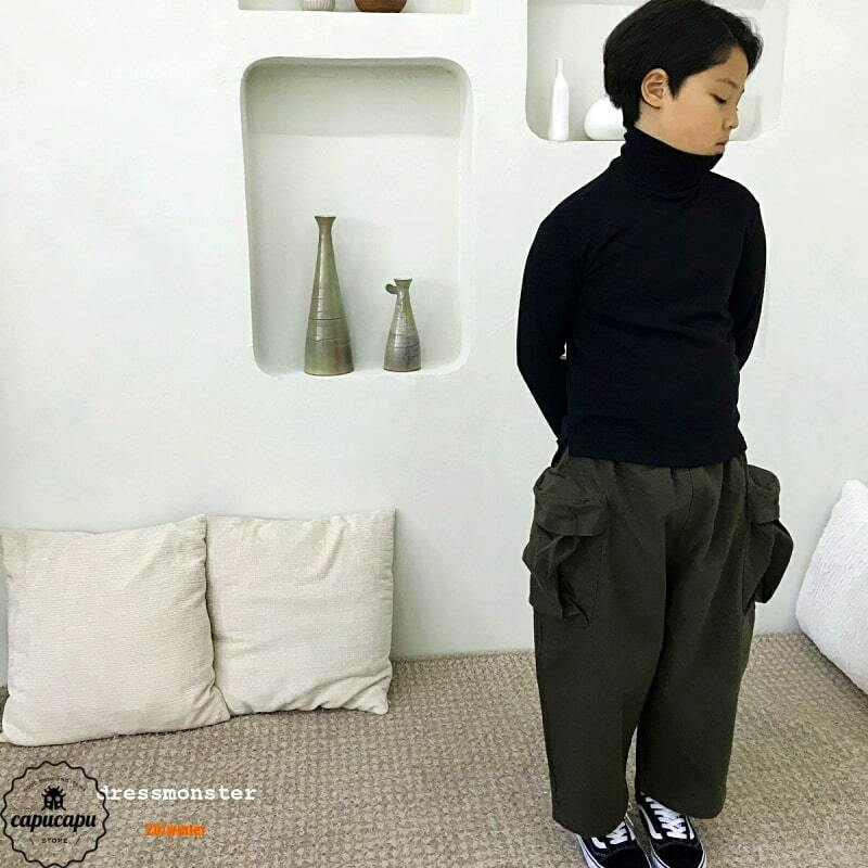 «sold out»«Jr.サイズ» dressmonster big cargo pants 2colors