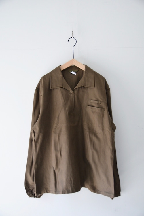 【MILITARY】CZECH MILITARY PULLOVER SHIRTS