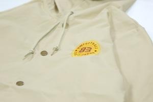 BW FOOTBALLCLUB Hooded Windbreaker Coaches Jacket [AWAY]