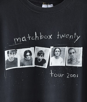 VINTAGE BAND T-shirt -MATCHBOX TWENTY-