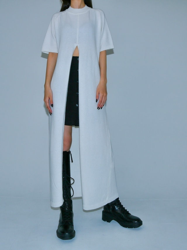 【WOMENS - 1 Size】CENTER SLIT ONEPICE / 3colors