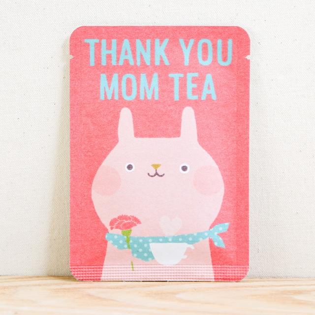 THANK YOU MOM TEA|ごあいさつ茶|和紅茶ティーバッグ1包入り