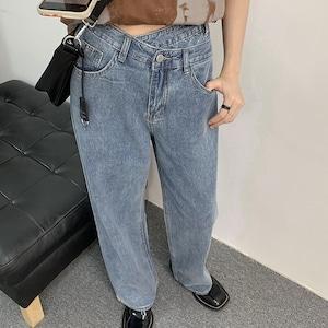 Lap like denim pants(ラップライクデニムパンツ)b-283
