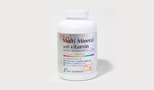 マルチミネラルビタミン 175g(180カプセル入り)
