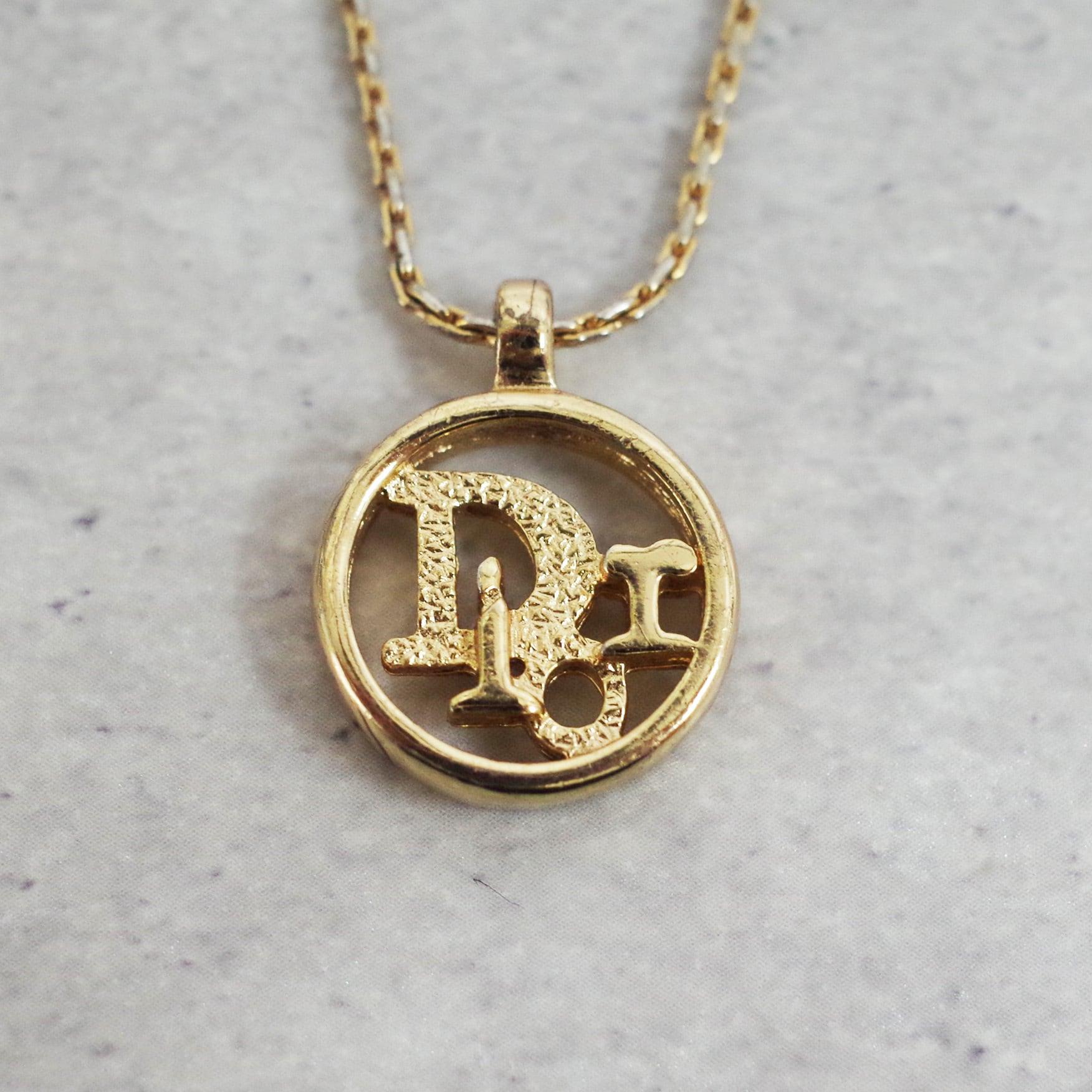 Christian Dior ディオール ネックレス ゴールド アクセサリー