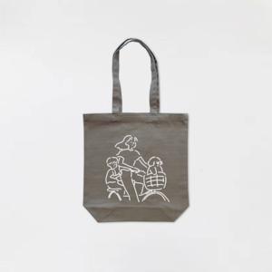 Ride a bicycle Tote-bag Khaki