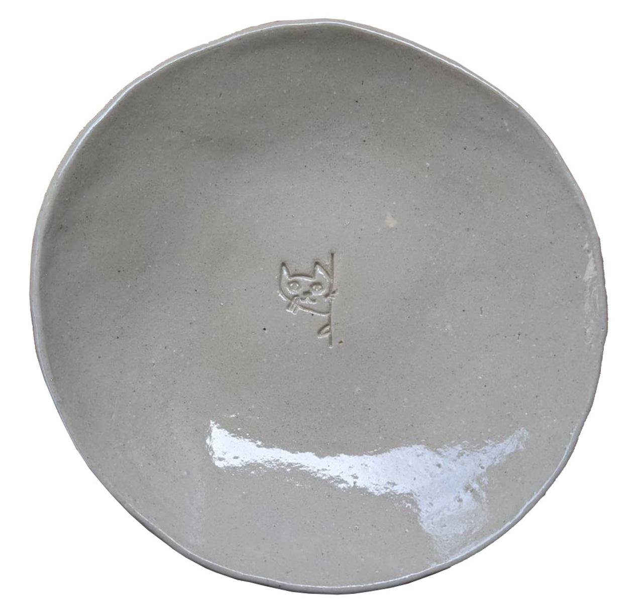 萩 大屋窯×猫庭 磁器平皿