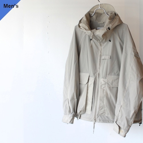 ENDS and MEANS Fishing Jacket(Light Gray)