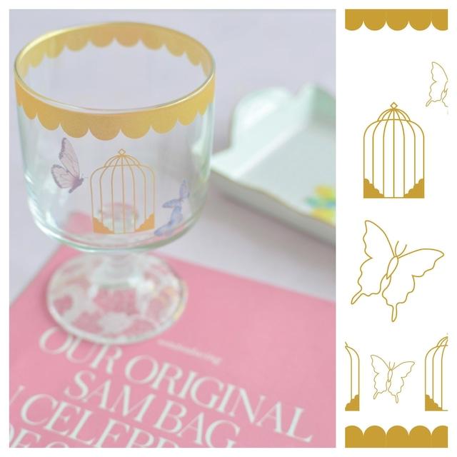 ガラス用Cage à oiseaux【ailé630】