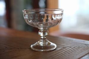 ◆三宅吹硝子工房◆三宅義一◆◆◆『⁂吹き硝子のデザートカップ』◆◆◆無色