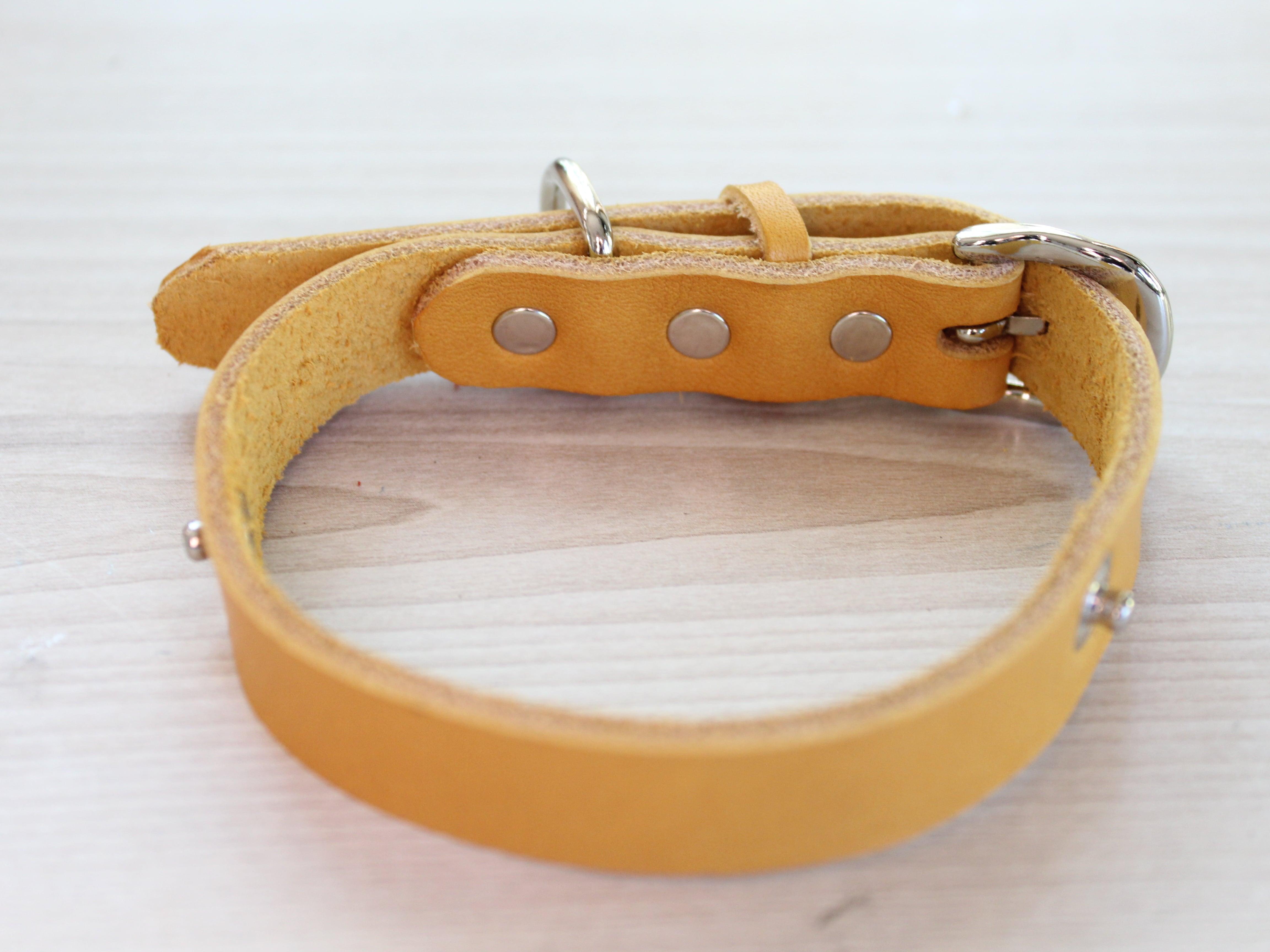 """WanDelen"" Dog Necklace (本体 yellow)"