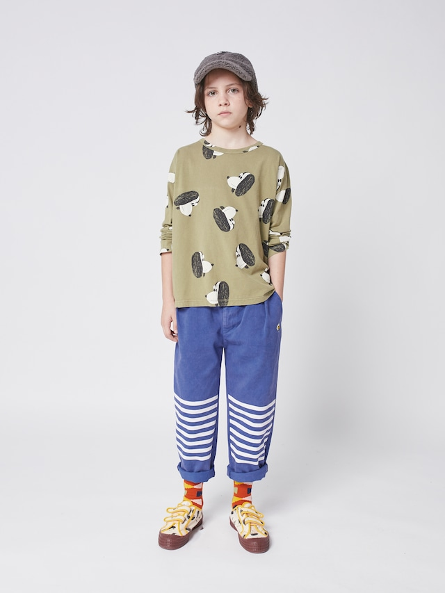 【21AW】bobochoses(ボボショセス)Doggie ALL Over Long Sleeve T-Shirt 長袖Tシャツ
