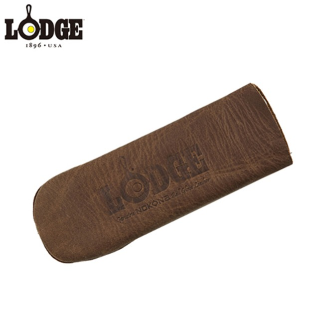 LODGE ロッジ NOKONA LEATHER HOT HANDLE HOLDER, COFFEE ハンドルホルダー ALHHNS85