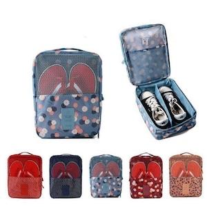 5005シューズ袋 シューズ 旅行 便利グッズ 靴 収納 トラベルポーチ
