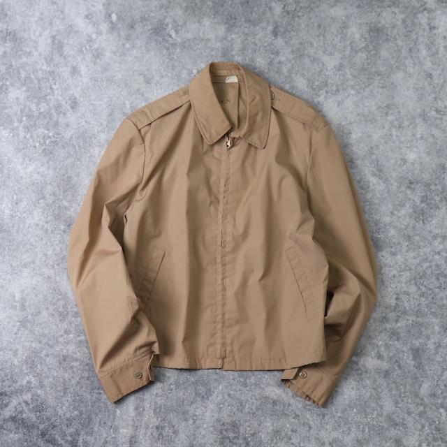 70's U.S.N. Poplin jacket 70年代 ネイビー ポプリン ジャケット スウィングトップ ドリズラー ミリタリー ヴィンテージ  Vintage 古着 A518