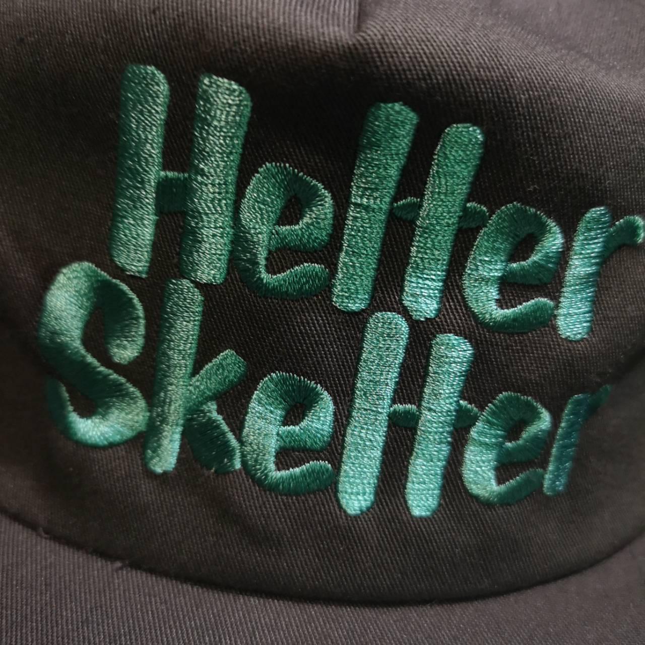       HELTER SKELTER SNAPBACK CAP BLK, GRY