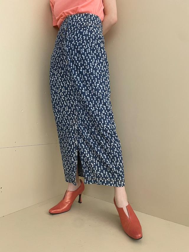 denim design skirt / 7SSSK30-02