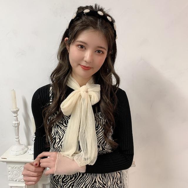 【RE】big ribbon knit