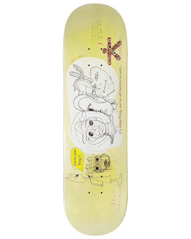 Frog skateboards Cursed (Milic) Deck 8.5