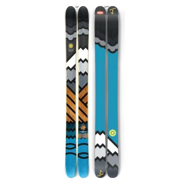 【予約】J skis - オールプレイ「スィックライン」DDC x Jコラボ限定版スキー