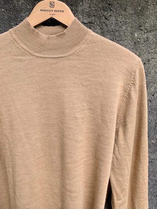 Vintage Blooks Brothers Mock Neck Merino Wool Knit Top