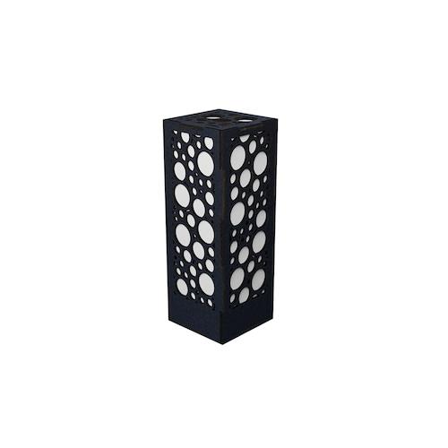 ミニ行灯 バブル - 置き型照明 Mサイズ ブラック