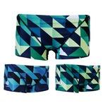 GUARD(ガード)×TYR(ティア) メンズ水着 幾何学模様 メンズ ショートボクサー  gud-bgeo17 競泳 ブランド