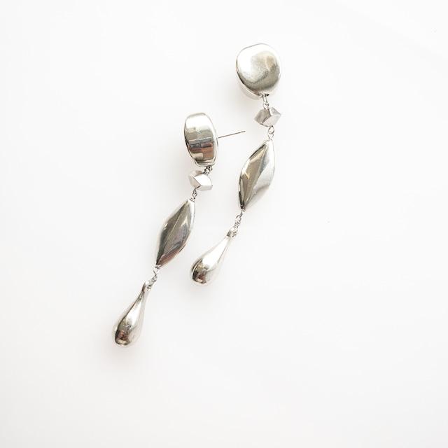 Bohemian silver drop