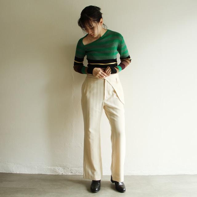 quitan【 womens 】silk khadi easy pants